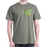 Art Teacher Pocket Image Dark T-Shirt