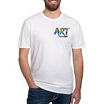 Art Teacher Pocket Image Fitted T-Shirt