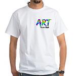 Art Teacher Pocket Image White T-Shirt