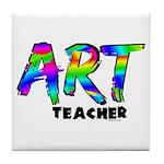 Art Teacher Tile Coaster