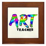 Art Teacher Framed Tile