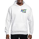 Art Teacher Pocket Image Hooded Sweatshirt