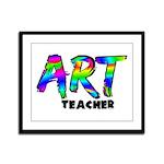 Art Teacher Framed Panel Print