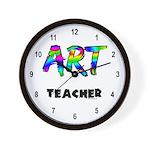 Art Teacher Wall Clock