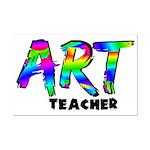 Art Teacher Mini Poster Print