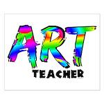 Art Teacher Small Poster