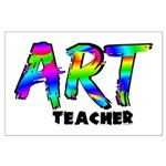 Art Teacher Large Poster