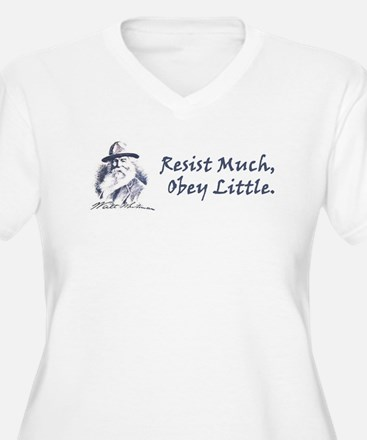 resist Plus Size T-Shirt