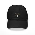 Deer skull Black Cap