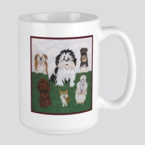 Lucy & the Street Sniffers Large Mug