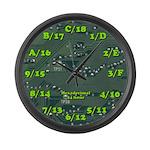 Hexadecimal Large Wall Clock