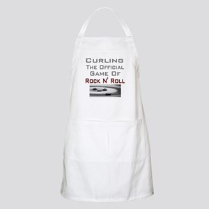 Curling-The Official Game Of BBQ Apron