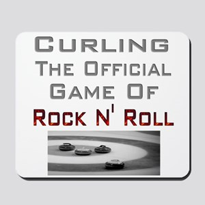 Curling-The Official Game Of Mousepad