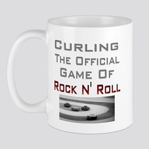 Curling-The Official Game Of Mug