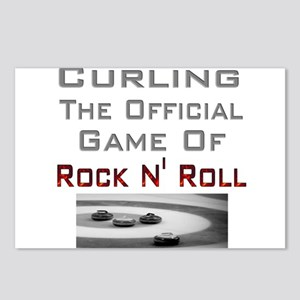 Curling-The Official Game Of Postcards (Package o