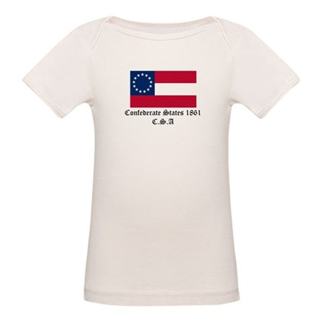 Secede! Confederate States Organic Baby T-Shirt