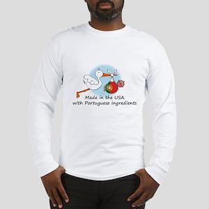 Stork Baby Portugal USA Long Sleeve T-Shirt