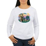 St Francis #2/ Whippet #12 Women's Long Sleeve T-S