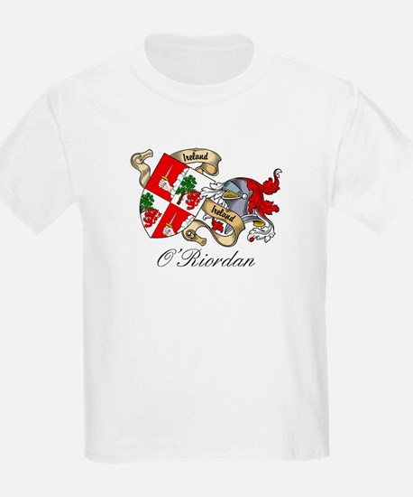 O'Riordan Coat of Arms Kids T-Shirt