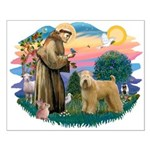 St Francis #2/ Wheaten Small Poster