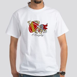 O'Quigley Coat of Arms White T-Shirt