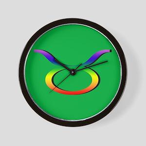 GLBT Taurus g Wall Clock
