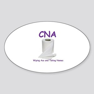 CNA Sticker (Oval)