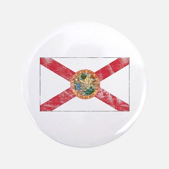 "Vintage FL State Flag 3.5"" Button"