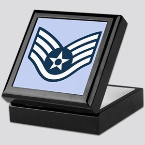 Staff Sergeant Tile Insignia Box