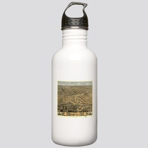 Vintage Map of Macon C Stainless Water Bottle 1.0L