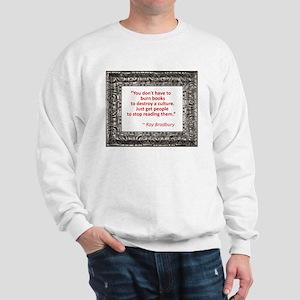 Bradbury on Books Sweatshirt