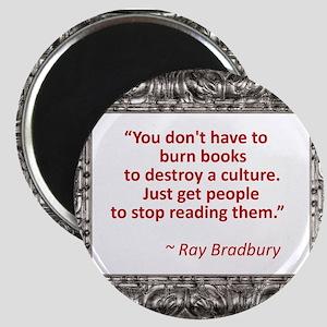 Bradbury on Books Magnet