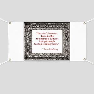 Bradbury on Books Banner