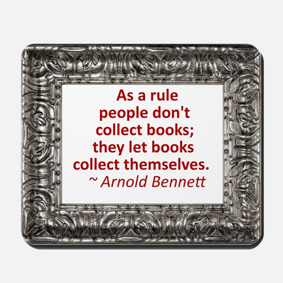 Book Collecting Mousepad
