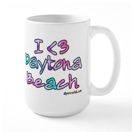 I <3 Daytona Beach Large Mug