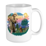 St Francis #2/ Welsh Ter. Large Mug