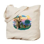 St Francis #2/ Welsh Ter. Tote Bag