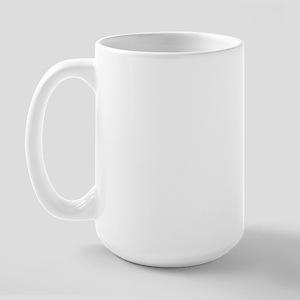 St Francis #2/ Poodle (Toy blk) Large Mug
