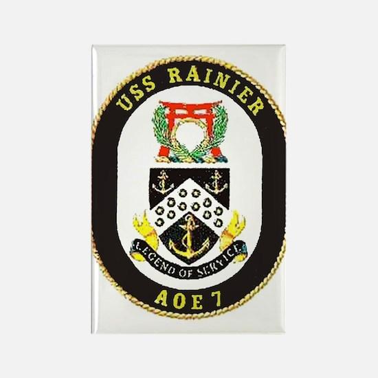 USS Rainier AOE 7 Rectangle Magnet