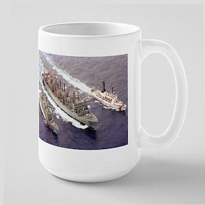 USS Rainier Ship's Image Large Mug