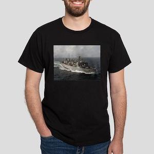 USS Bridge Ship's Image Dark T-Shirt