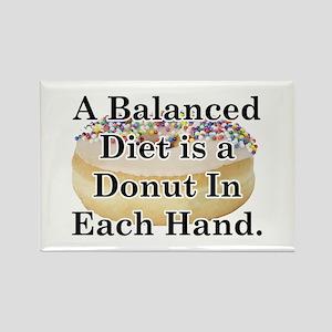 Balanced Donut Rectangle Magnet