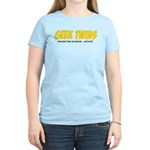 Geek Twins Women's Light T-Shirt