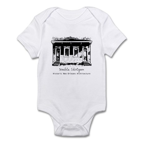 New Orleans Double Shotgun Infant Creeper