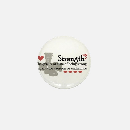 strength Mini Button