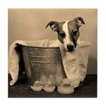 Old Fashioned JRT in Tub Tile Coaster
