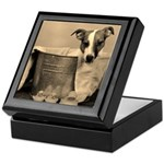 Old Fashioned JRT in Tub Keepsake Box