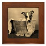 Old Fashioned JRT in Tub Framed Tile