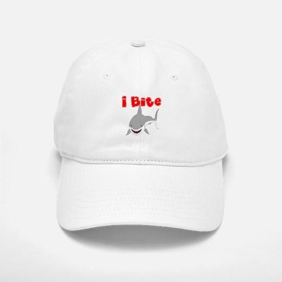 I BITE (SHARK) Baseball Baseball Cap