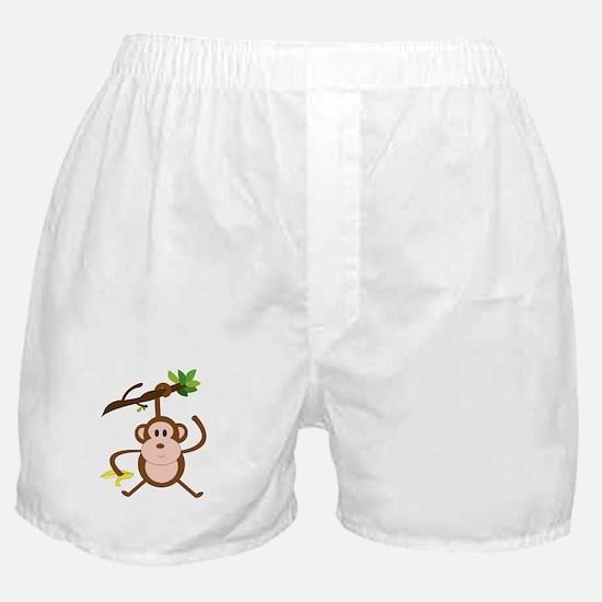 Monkeying Around Boxer Shorts